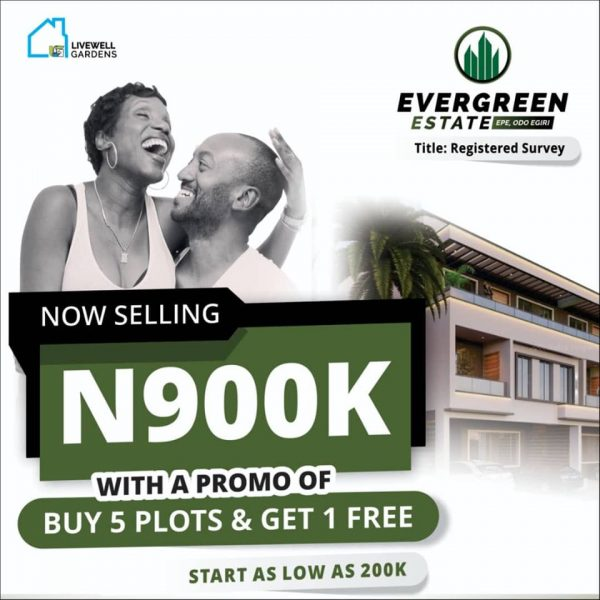 Top 10 Reasons why Evergreen Estate at Epe is selling Fast